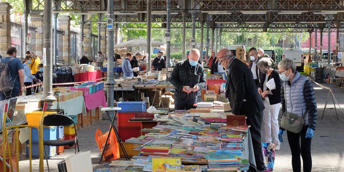 marche du livre ancien - parc georges brassens paris
